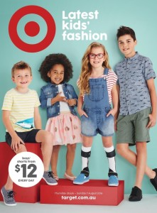 Ad inclusion in australia starting with julius image 1 description 4 children on the cover of a catalogue of different ages and complexions one girl is wearing denim overall shorts white knee high negle Gallery
